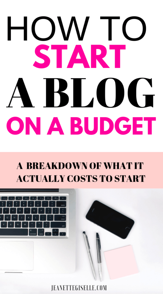How Much Does Starting a Blog Really Cost? Get the complete cost breakdown and start your blog today!