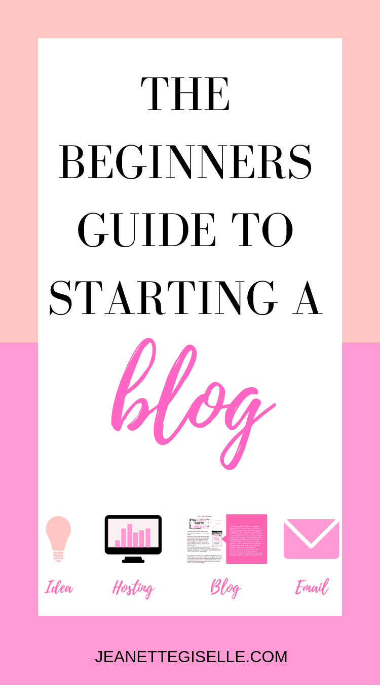 Are you a total blogging newb? Read this post to learn all the essentials to starting a new blog! Beginner Blogger | How to Start Blogging | Blog for Beginners | How to Create a Blog | Blogging for Beginners Wordpress