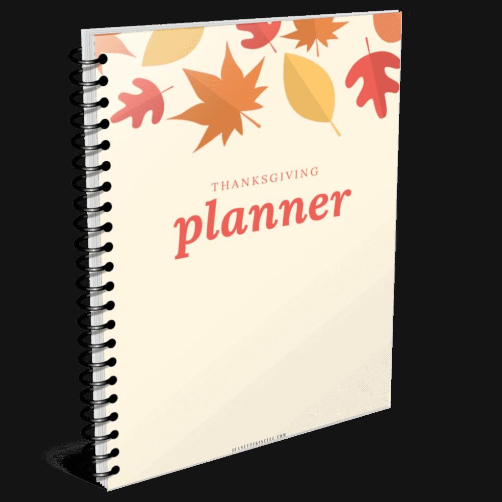 Thanksgiving Planner Mockup