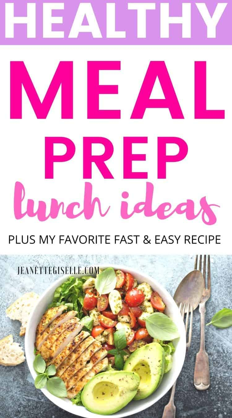 Healthy Meal Prep Lunch Ideas For The Week
