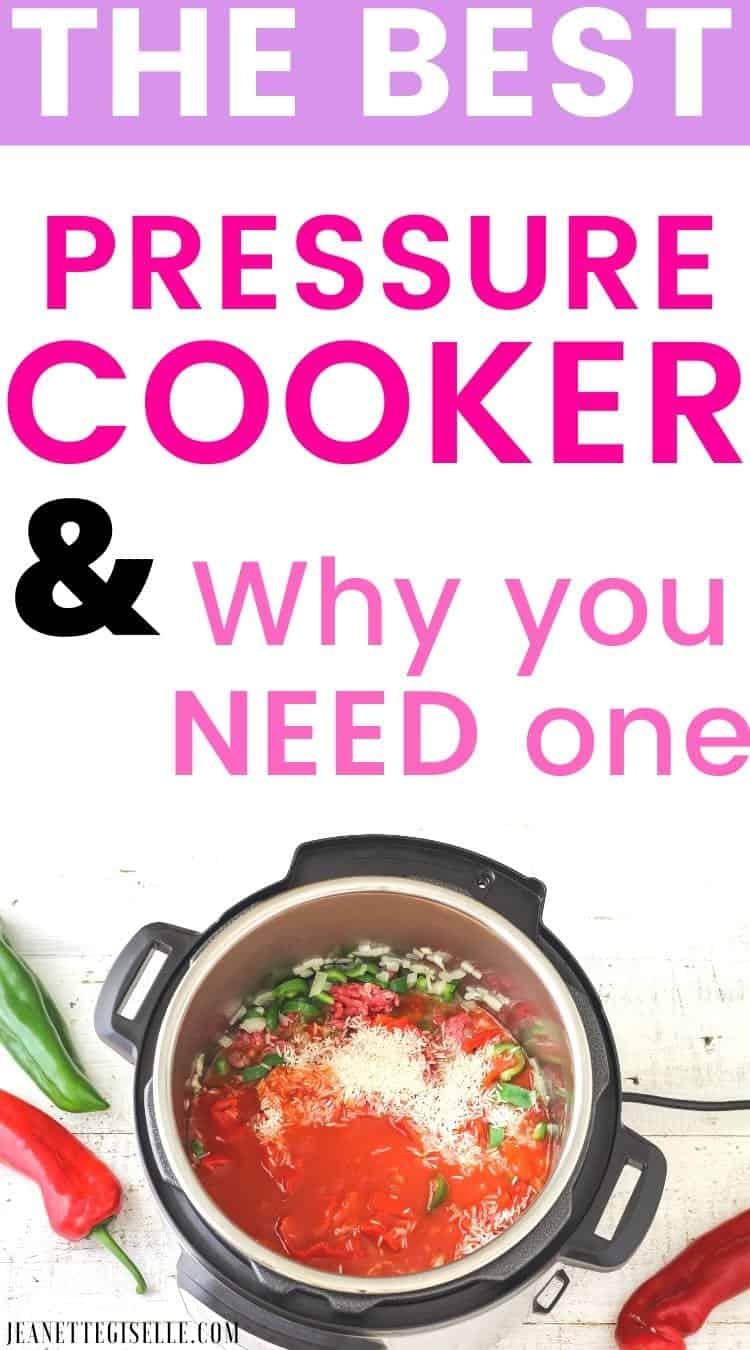 Everything you need to know about Pressure Cookers: The Best Brands, all its benefits and how to use a pressure cooker. My Best tips to getting started with a Pressure Cooker. Easy Guide for Beginners.