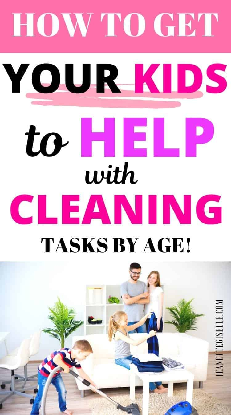 How to Get your Kids to Clean
