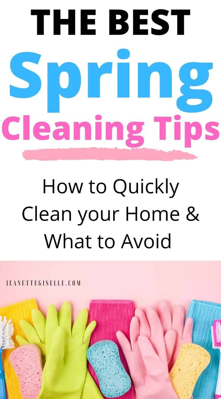 The Best Spring Cleaning Tips